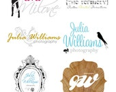 Custom Logo Design for your Etsy Shop or Blog - See all my logo listings for more samples