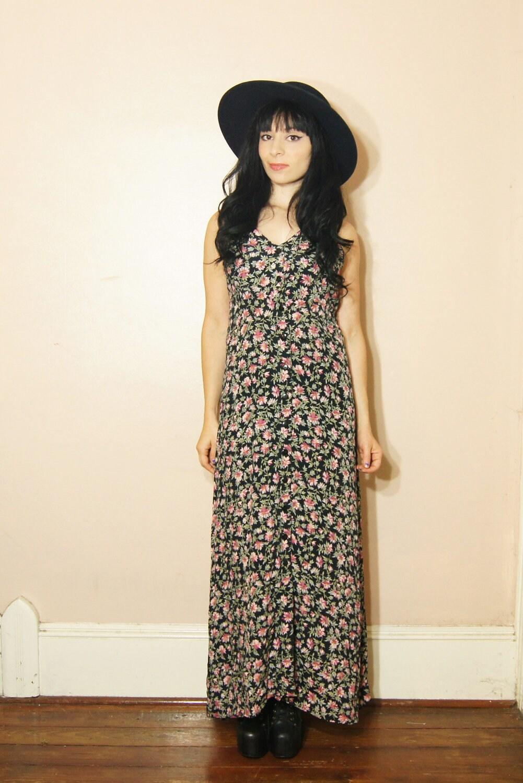 90s Grunge Floral Dress