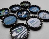 NFL Bottle Cap Magnets