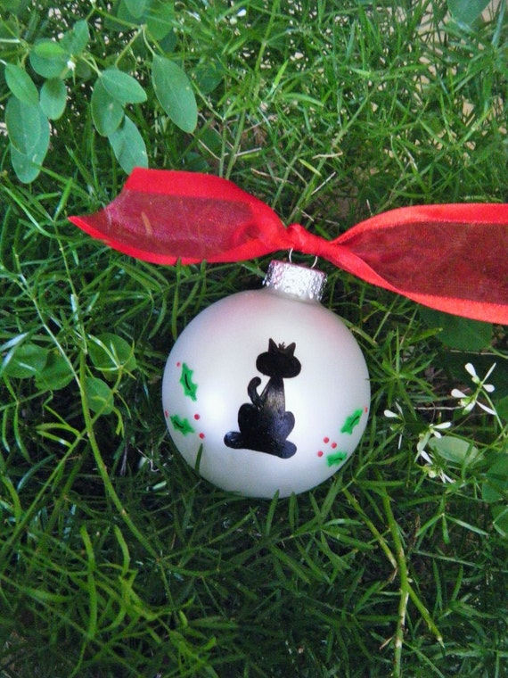 Items similar to personalized cat ornament for pet lover