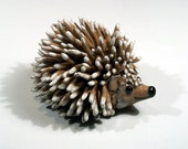 Mrs. Tiggy Winkle Hedgehog Folkart Sculpture - Medium Size