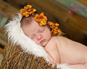 Flower Girl Hair Wreath, flower girl head piece, flower girl headband, flower girl hair accessories, wedding hair wreath
