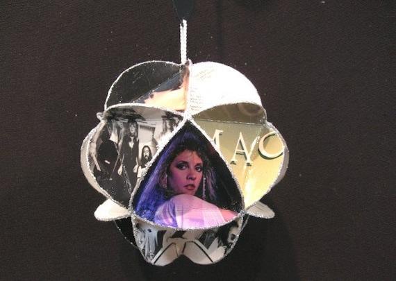 Fleetwood Mac Album Cover Ornament Made Of Record Jackets - Stevie Nicks