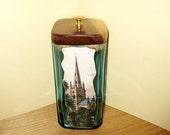 Recycled- Repurposed- Liquor Bottles- Bombay Gin