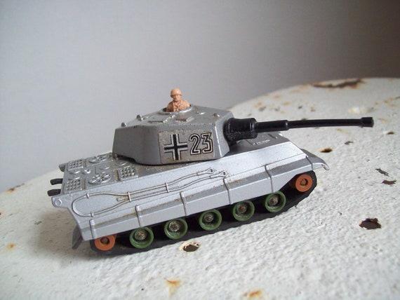 1974 Matchbox Lesney K 104 King Tiger Tank By Mattiesmenagerie