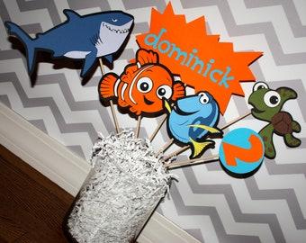 Finding Nemo Birthday Party Decoration Centerpeice