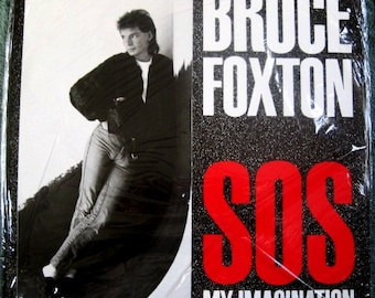 SEALED BRUCE FOXTON Sos My Imagination 4 Song 12 Inch Single Ep Vinyl Record Album Mint