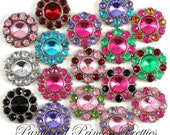 Set of 10-Large Anna 25mm Buttons-You Choose Colors