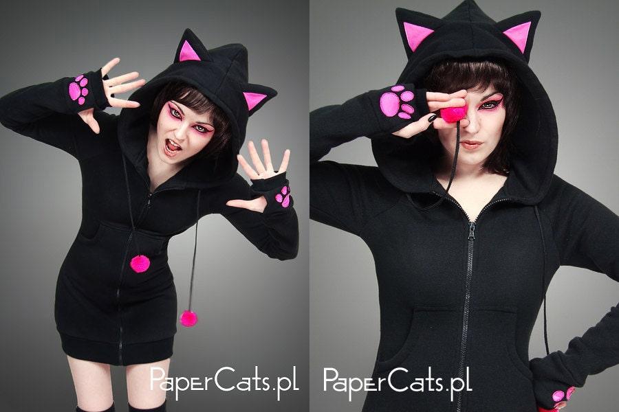 Kitty ears hoodie