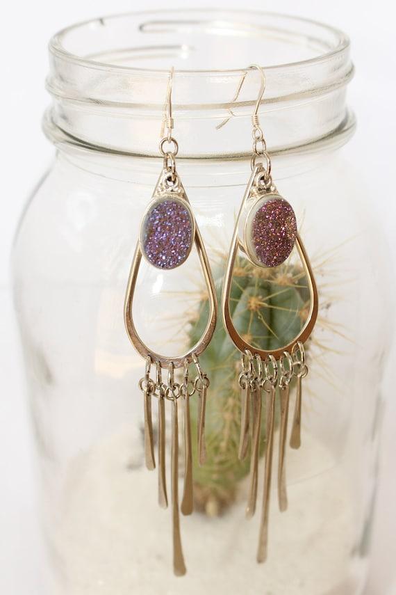 SALE // Druzy Earrings
