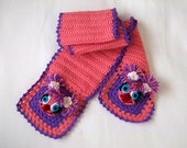 Crochet Abby Cadabby(Inspired) Scarf-for Baby or Toddler