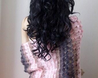 Crochet Mohair Shawl