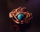 Wire Wrapped Cloud Ring Tutorial