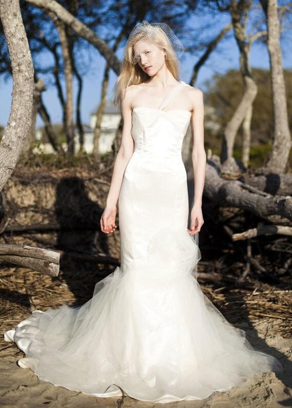 Convertible Wedding Dress Trumpet Over