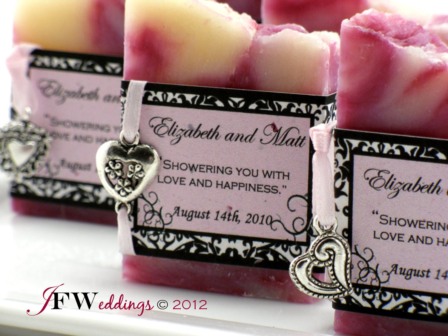 Homemade Wedding Shower Gifts: 50 Handmade VEGAN SOAP Favors Bridal Shower Wedding
