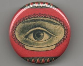 Eye of Mystery 1.25 inch Pinback Button