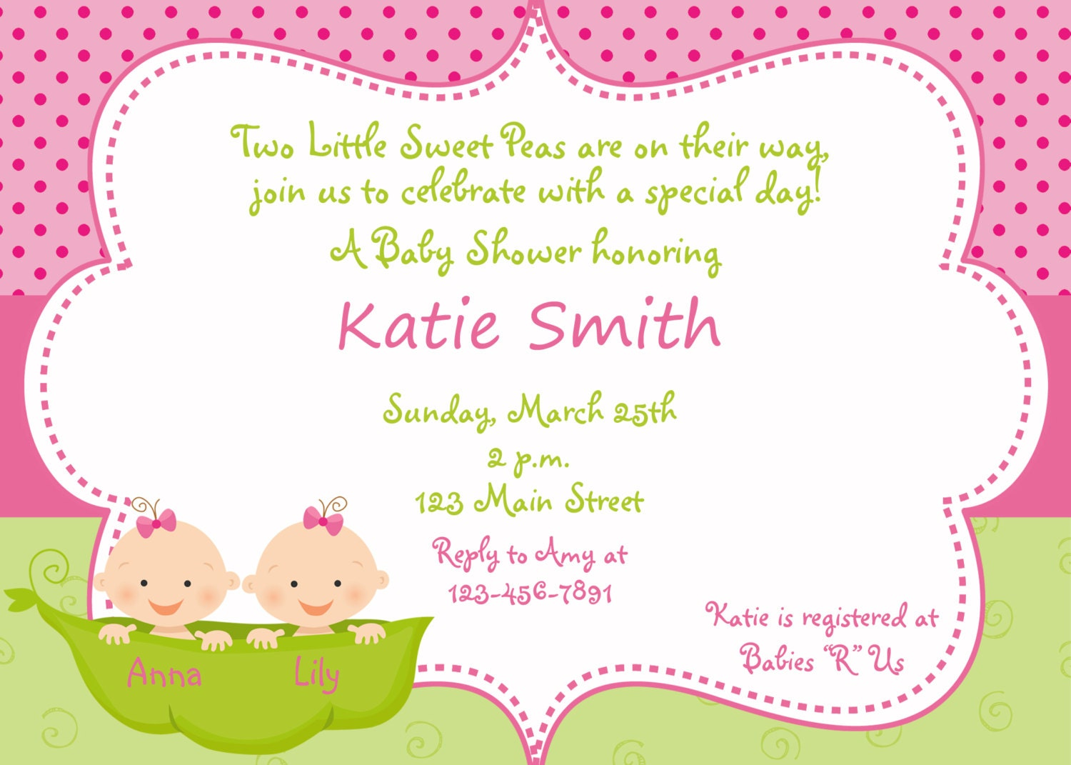 Baby Shower Invitation Wording Girl – Baby Shower Invitations Samples Free