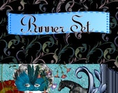 Etsy Shop Banner Set Mysterious 4 Banners, 1 Avatar 3 other Images 8 TOTAL