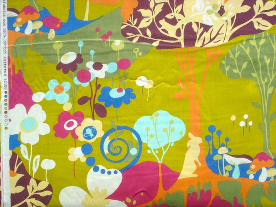 MoMo Wonderland Tea Time Pistachio moda fabrics FQ or more