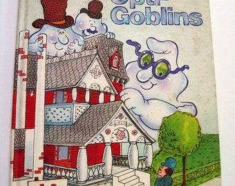 Mr. GOMP and the OPTI-GOBLINS - Vintage Hallmark Children's Book, Halloween
