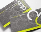 500 Silk Laminated Business Cards plus Upgrades