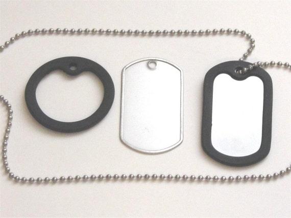 Dog tag rubber silencer - quantity 25