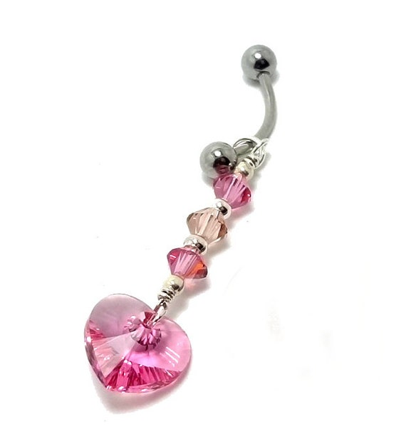 Belly Ring VCH Body Piercing Intimate Jewelry Curved