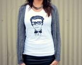 Ode to Yves Short Sleeve Women's T-Shirt (Size MEDIUM)