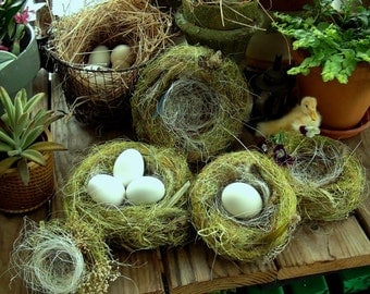 Hand-spun Nests For Your Special Eggs - Made To Order