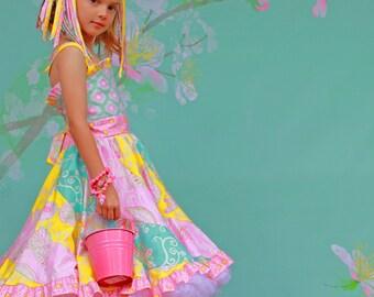 Candy Cotton Twirl Dress