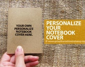 Personalize Your Mini Notebooks with your own cover picture - Custom made Travel Small Pocket Diary
