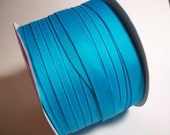 Turquoise Grosgrain Ribbon-5 yards of 3/8 Inch-LOWEST Price