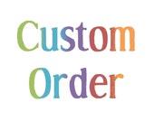 Custom Reserved Order for EcoShag 6 Pairs Slipper Socks