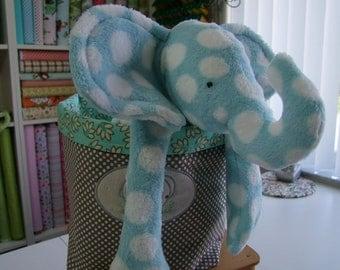 Elephant Cuddle Buddy Personalized