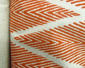 BALI MANDARIN Ikat geometric on cotton