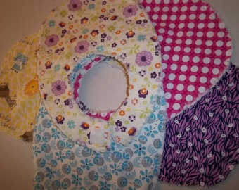 Baby Bib Pattern Tutorial, pdf, Small Size for Infants, Easy to Make, with photos,  Instant Download