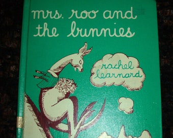 Mrs. Roo and the Bunnies - 1953 Book