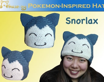 Amaze-ing Snorlax-Inspired Hat - Made to Order