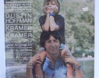 """Rare """"Kramer vs Kramer"""" Vinyl Soundtrack (1979) - Sealed"""