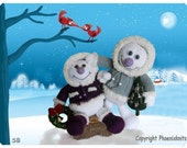 Snowboys :   Pattern only IMMEDIATE DOWNLOAD
