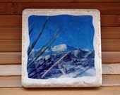 Over the Mountain - Set of 2 Photo Coasters