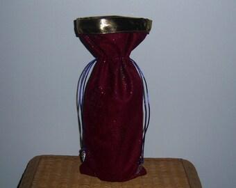 Sparkley wine bag