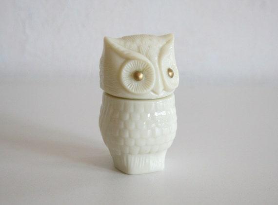 Owl Trinket Box
