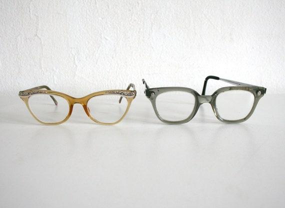 His and Her Vintage Eyeglasses