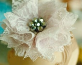Fabric Flower Pattern - Fabric Flower - Tutorial Pattern - Carnation
