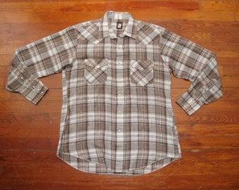 mens vintage karman western shirt