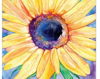 Mousepad - Sunflower Painting - Art for Home or Office