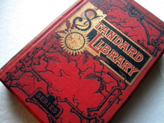 Antique Book - Victorian Covers in Art Nouveau