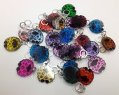 Sheep Stitch Markers, set of 5, assorted colors