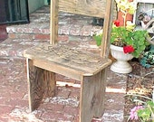 BENCH  - Country Primitive - ''MiNi'' Bench - Smaller Size PARK BENCH - 26'' Seat  - Bench For One - Great Price & FRee SHiPPiNG! - C Dtails